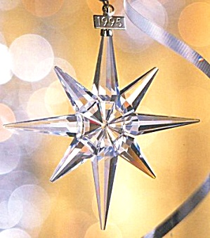 2001 Swarovski Christmas Ornament