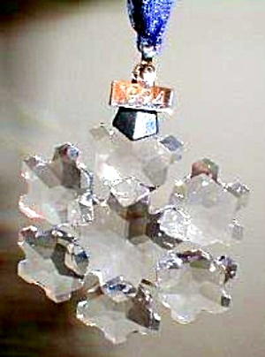 SWAROVSKI 1994 Annual Star Snowflake Ornament SCO94 SCO-94 MIB W/COA (Image1)