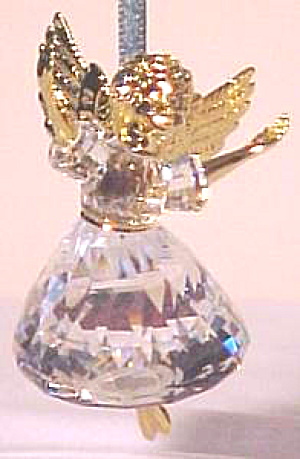 Swarovski 1996 #1 Christmas Memories Angel Ornie #9443nr 960 001 Miob Ornament First