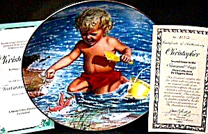 Christopher - Treasured Days Us : Higgins Bond Joys Childhood Boy Beach Starfish