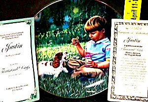 #8 JUSTIN Treasured Days US : Higgins Bond joys childhood bubbles Cocker Spaniel (Image1)