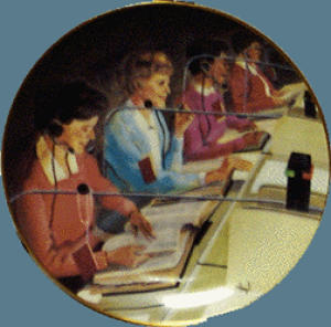 THE NUMBER IS...OLD-STYLE Switchboard OPERATORS AT&T BELL Union Telecommunications (Image1)