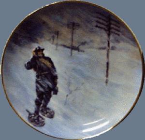 SPIRIT OF SERVICE AT&T BELL Lineman Ernest H. Baker 1888 Blizzard MacDonald Pioneers (Image1)