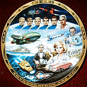 Thunderbirds Are Go #1 Gerry Anderson Steve Kyte Hamilton Collection Uk 1992