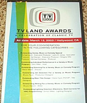 1st Premiere TV LAND AWARDS DVD 2003 Hollywood B00B2H92RC (Image1)