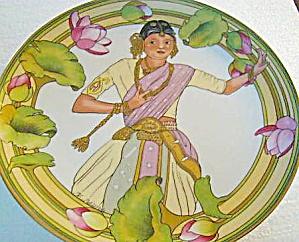CHILDREN OF WORLD #5 India '81 Kinder Der Welt Villeroy Boch Heinrich Germany K Blume (Image1)