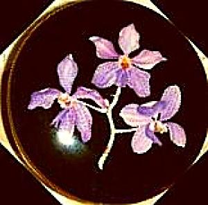 Villeroy & Boch Luxembourg VITRO Porcelaine ORCHIDEE 4 In Trinket box Purple Lavender (Image1)