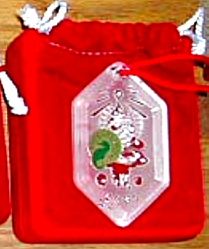 Songs of Xmas Christmas #6 O' Christmas Tree '01 Waterford Dated Annual Ornament (Image1)