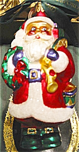1st Edition Waterford Holiday Heirlooms Limited Edition Santa 103566 Germany Handmade