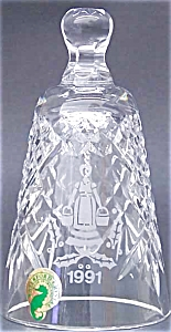 1991 8 EIGHT MAIDS A MILKING BELL 12 Twelve DAYS OF CHRISTMAS WATERFORD CRYSTAL '91 (Image1)