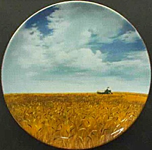 America The Beautiful From Sea Shining Wedgwood Price Great Plains Wheatfields Kansas (Image1)