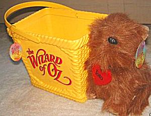 Wizard of Oz TOTO doll BASKET RARE WOZ Ringling Bros Barnum Bailey Circus Ice Show 98 (Image1)