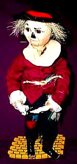 #96262 Scarecrow Wonderful WIZARD OF OZ Ashton-Drake Mary Tretter WOZ Ashton ybr (Image1)