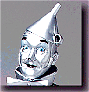 Hamilton Presents 1988 Tin Man Wizard Of Oz P3803 Tinman Yellow Brick Road Stand Ybr