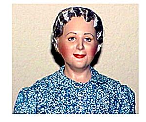 Clara Blandick Auntie Em Wizard Of Oz Franklin Mint Porcelain Heirloom w/Chicks (Image1)