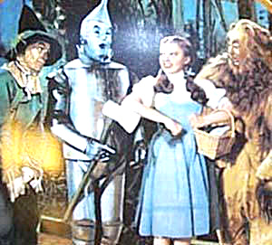 We're Off to See the Wizard #1 WOZ 50th Ann. Blackshear Dorothy Lion Tinman Scarecrow (Image1)