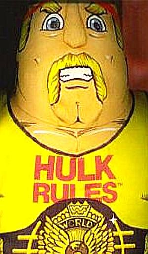 90 HULK HOGAN Wrestling Buddy Tonka Plush Pillow Doll WWF WWE World Federation Marvel (Image1)