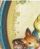 Click to view larger image of #1 '72 CHRIST IN THE MANGER CHRISTMAS PLATE ANRI JUAN FERRANDIZ WOOD Carved Italy Box (Image2)