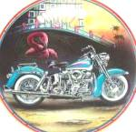 Click to view larger image of EASYRIDERS Revival Of An Era Miami Style M LACOURCIERE HD BIKER PAISANO Pink Flamingo (Image1)