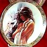 MORNING STAR NATIVE BEAUTY Art: LEE BOGLE BRADFORD BRADEX INDIAN MAIDEN #84-B10-145.5