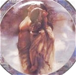 THE STIRRING SOUL MATES LEE BOGLE NATIVE AMERICAN INDIANS BRADFORD BRADEX 84-B10-249.