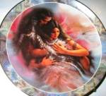 HEARTS DESIRE SOUL MATE LEE BOGLE NATIVE AMERICAN INDIANS EXCHANGE BRADEX 84-B10-249.