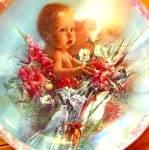 Click to view larger image of Timeless Treasure Heaven Sent Bogle Baby Girl 84-B10-91.3 Angel Dove Wren Parrot Quai (Image1)