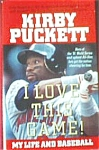 Click here to enlarge image and see more about item BOOKS23: I LOVE THIS GAME My Life In Baseball Kirby Puckett Audio 2Cs 2+Hr Paul Calderon Twins