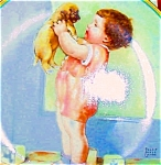 Click here to enlarge image and see more about item BPGP11: A Childs Best Friend #7 MINE Bessie Pease Gutmann 1930s 1940s Nostalgia puppy Cutmann