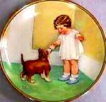 Click to view larger image of Childs Best Friend #2 THE REWARD Bessie P. Gutmann Nostalgic Baby Bottle Dog Cutmann (Image2)