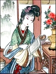 Click to view larger image of 10-150-1.6 BradEx Beauties of Red Mansion Artist Zhao Humins Imperial Jingdezhen Porc (Image1)