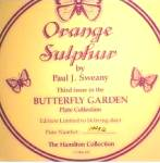 Click to view larger image of 1987 ORANGE SULPHUR : BUTTERFLY GARDEN/SWEANY (Image2)
