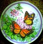 Click here to enlarge image and see more about item BUTTER4: 1987 MONARCH : BUTTERFLY GARDEN/P.J.SWEANY