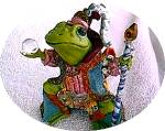 Click to view larger image of Camelot Frog Wizard of Camelot by Artist Steve Kehrli #2 2nd in series (Image2)