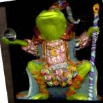 Click to view larger image of Camelot Frog Wizard of Camelot by Artist Steve Kehrli #2 2nd in series (Image3)