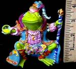 Click to view larger image of Camelot Frog Wizard of Camelot by Artist Steve Kehrli #2 2nd in series (Image4)