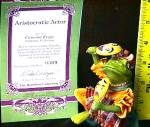 Click to view larger image of Camelot  Frogs Aristocratic Actor Artist Steve Kehrli 1 of series 12 MINT 97 Hamilton (Image4)