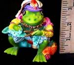 Click to view larger image of Camelot Frogs The REGAL TAILOR by Artist Steve Kehrli 1 in series of 12 MINT (Image2)