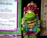 Click to view larger image of Camelot Frogs King Ribbit by Artist Steve Kehrli 1 in series of 12 MINT (Image2)