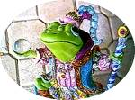 Click to view larger image of Camelot Frogs Wizard of Camelot by Artist Steve Kehrli 1 in series of 12 MINT (Image1)