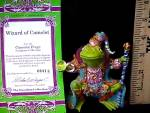 Click to view larger image of Camelot Frogs Wizard of Camelot by Artist Steve Kehrli 1 in series of 12 MINT (Image5)
