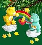 Click here to enlarge image and see more about item CARL134: MAKING THE SEASON BRIGHT FUNSHINE WISH Carlton Heirloom 2004 #CXOR-094L 94 Care Bears
