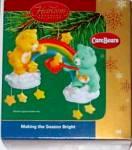 Click to view larger image of MAKING THE SEASON BRIGHT FUNSHINE WISH Carlton Heirloom 2004 #CXOR-094L 94 Care Bears (Image2)
