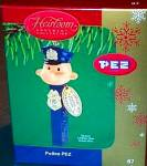 Click to view larger image of PEZ Candy POLICEMAN ORNAMENT 2004 67 CXOR-067L Authentic Special Edition Reproduction (Image1)