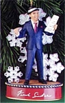 Click here to enlarge image and see more about item CARL181: 2000 Frank Sinatra #16724 Swingin' Sounds of Christmas Crooners Series Let it Snow Mu