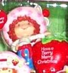 Click here to enlarge image and see more about item CARL202: Have a Berry Merry Christmas Strawberry Shortcake scented American Greeting AXOR-013J