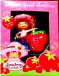 Click to view larger image of Have a Berry Merry Christmas Strawberry Shortcake scented American Greeting AXOR-013J (Image2)