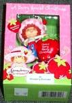 Click to view larger image of Have a Berry Merry Christmas Strawberry Shortcake scented American Greeting AXOR-013J (Image4)