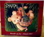 Click here to enlarge image and see more about item CARL24: 1997 BUNDLE OF JOY NEW BABY PX ONLY OPERATION SANTA MM80-008