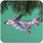 Click here to enlarge image and see more about item CARL45: HOLIDAY TRANSPORT 2001 MMORN-1000E #6 Sixth Anniversary OPERATION SANTA Santa B-52 ?